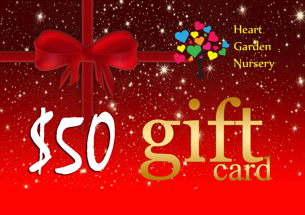 Gift Card $50 Value